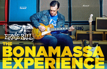 Ernie Ball Presents The Bonamassa Experience